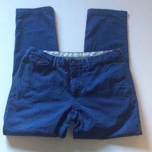 Polo Ralph Lauren Nautical pants 36/32 men's blue